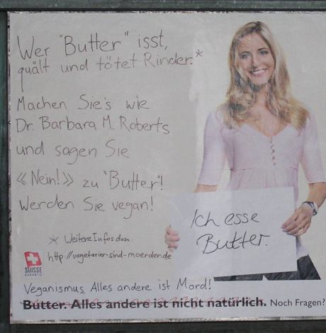 Butter ist Mord – Detail